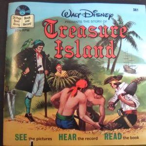 Walt Disney Presents The Story Of Treasure Island